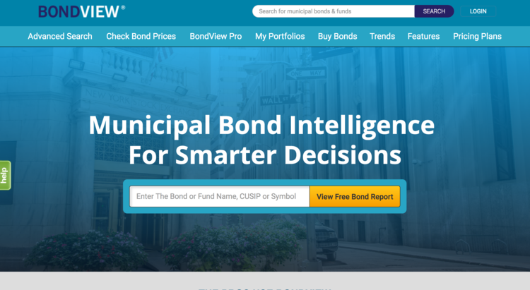 BondView municipal bonds